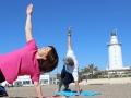 Efecto Yoga Málaga - yoga en la playa 1