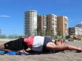 Efecto Yoga Málaga - yoga en la playa 2