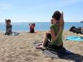Efecto Yoga Málaga - yoga en la playa12