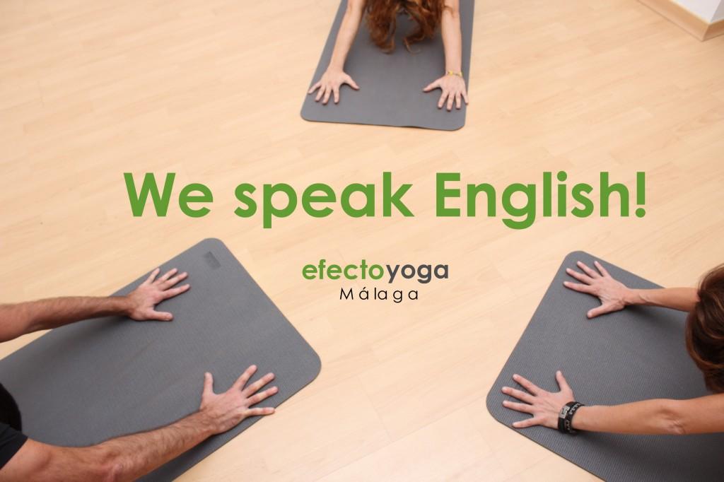 Yoga in English - Efecto Yoga Málaga