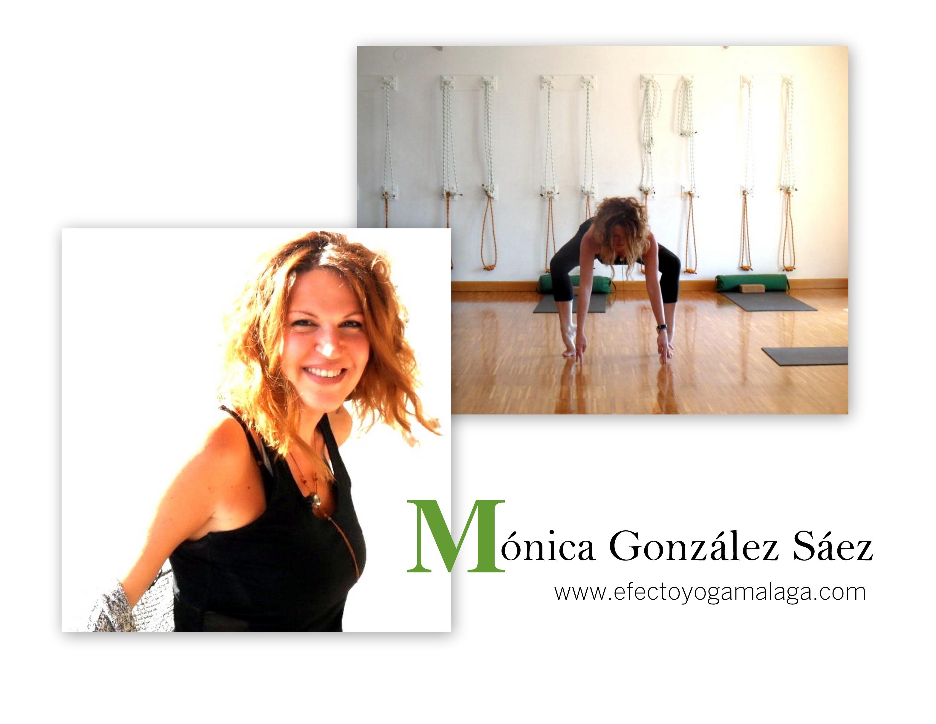 Mónica González - Efecto Yoga Málaga