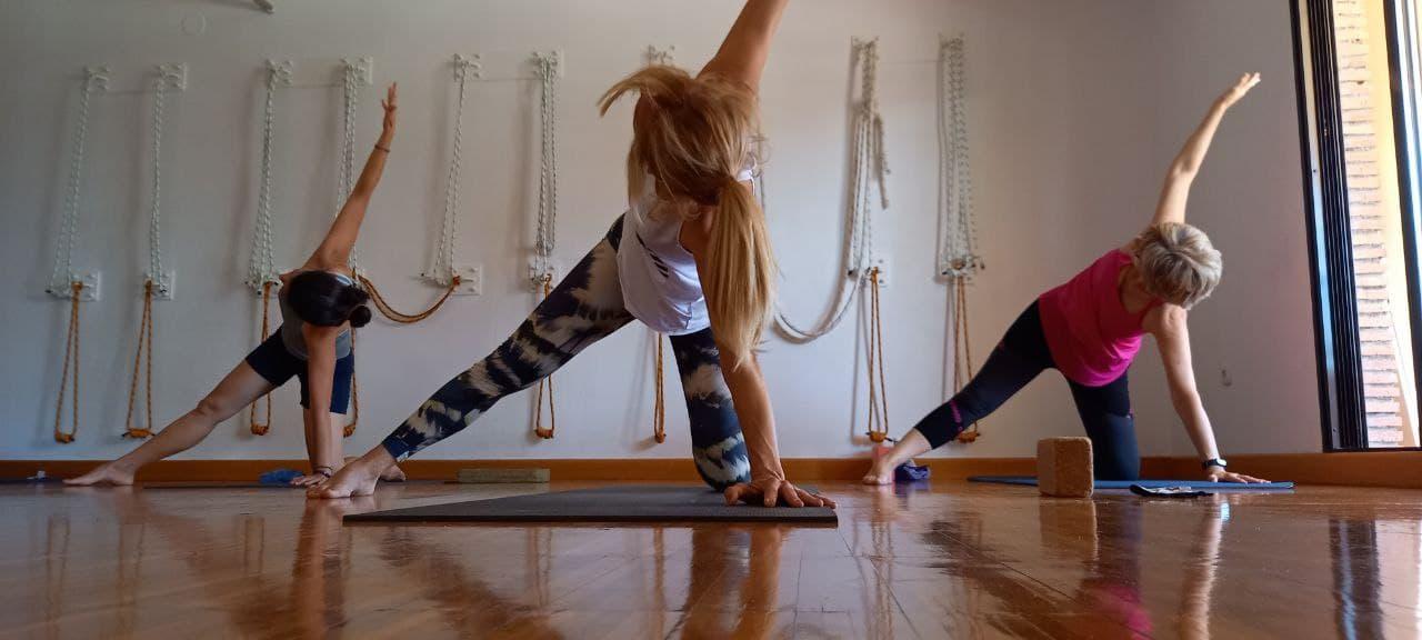 Ven a probar nuestro yoga