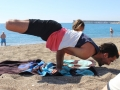 Efecto Yoga Málaga - yoga en la playa7